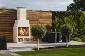 Outdoor fireplace Barrie